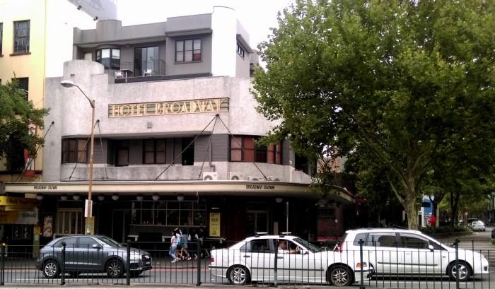 Broadway Crown Hotel Chippendale Sydney NSW TG