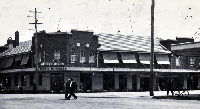 Golan Hotel Lismore 1950s anu