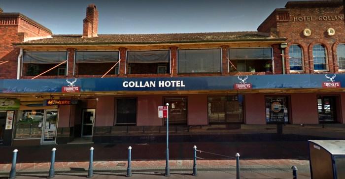 Hotel Gollon Lismore balcony