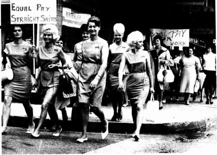 barmaids strike 1967