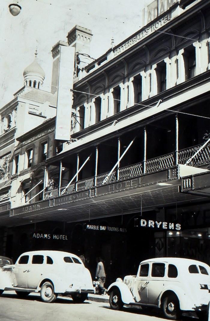 Adams Tattersalls Hotel 1939 ANU