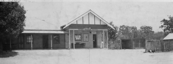 Post Office Hotel Ulan NSW 1939 ANU