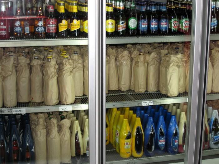 Post Office Hotel Ulan NSW bar fridge TG 1