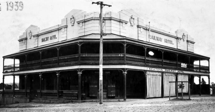 Railway Hotel Kandos 1939 ANU