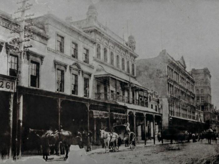 Tatts Hotel Sydney 1880
