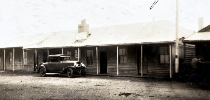 Commerical Hotel Nerriga May 1930 anu