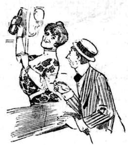 Sydney barmaid 1905