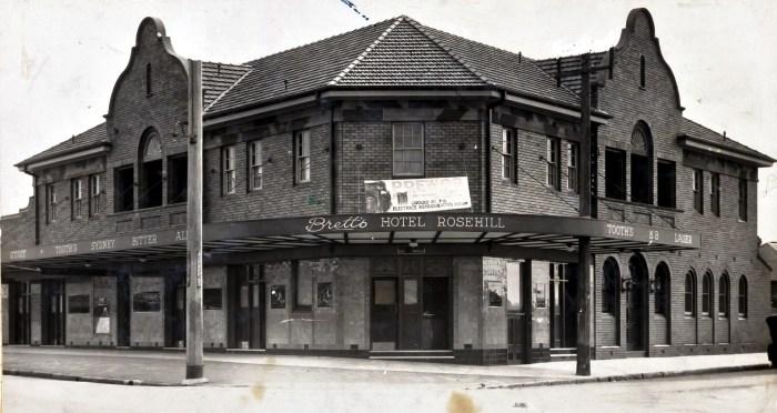 Rosehill Hotel Granville 1931 ANU