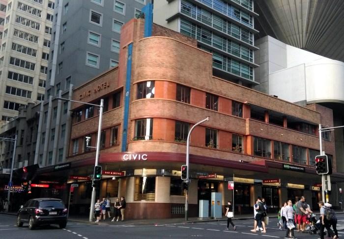 civic hotel sydney TG W