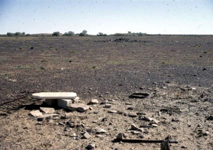 ruins of the min min hotel 1967
