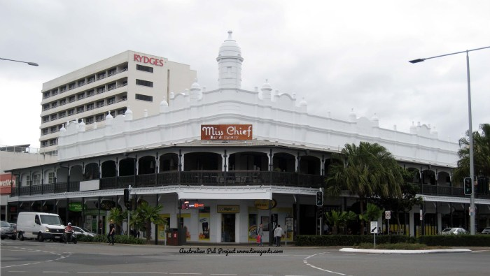 Central Hotel FORMER Cairns TG B W
