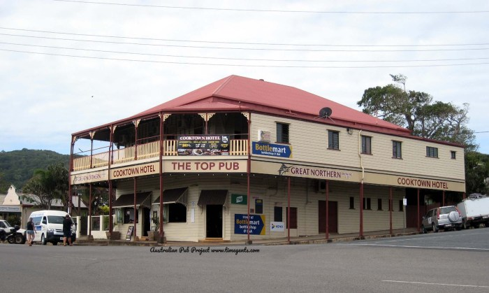 Cooktown Hotel Top Pub Cooktown Qld TG W