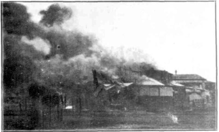 Imperial Hotel Emu Park FIRE 1925