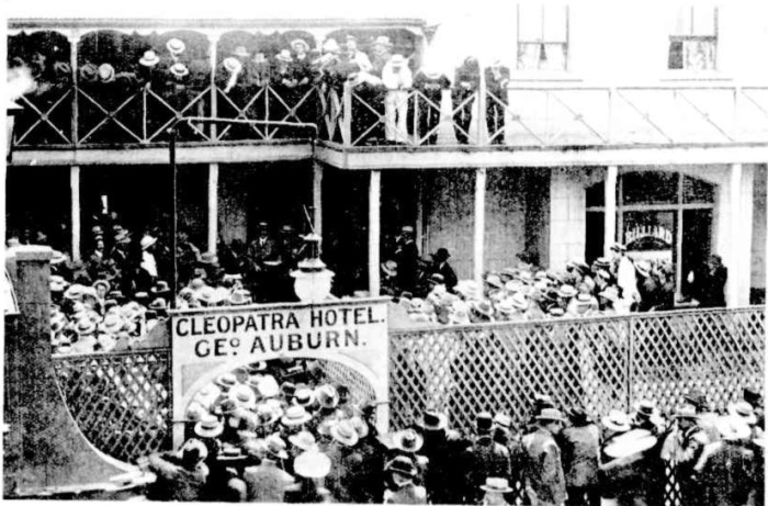 Cleopatra Hotel High Street Fremantle 1905
