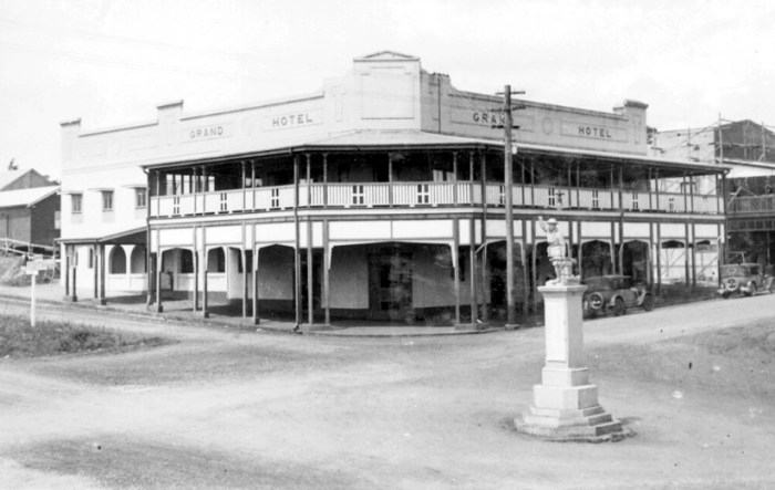 Grand Hotel Atherton historic