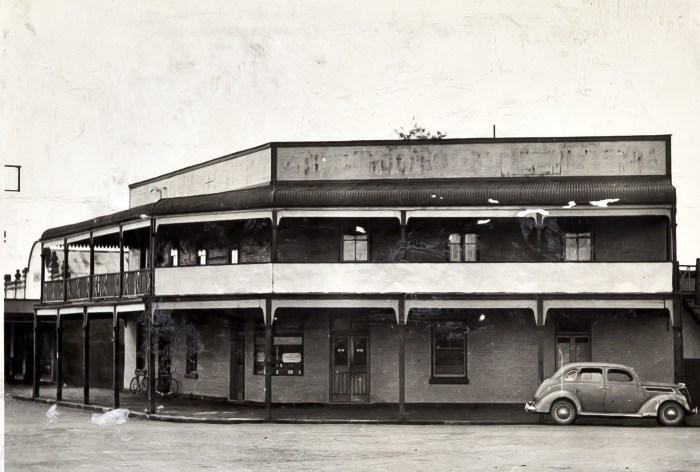 Terminus Hotel Singleton 1950s ANU