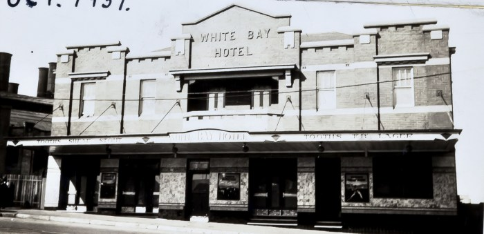 White Bay Hotel Rozelle October 1937 ANU