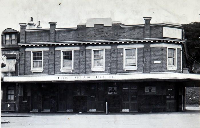 Bells Hotel woolloomooloo 1949 ANU