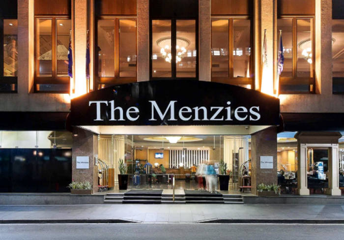 Menzies prior to demolition C2018