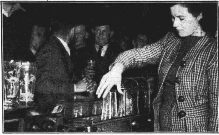 Plaza Hotel Wynyard Sydney Electric Glass Washer 1946 first in NSW