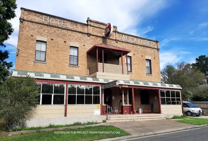 Alexander Hotel Rydal NSW 2020 TG W