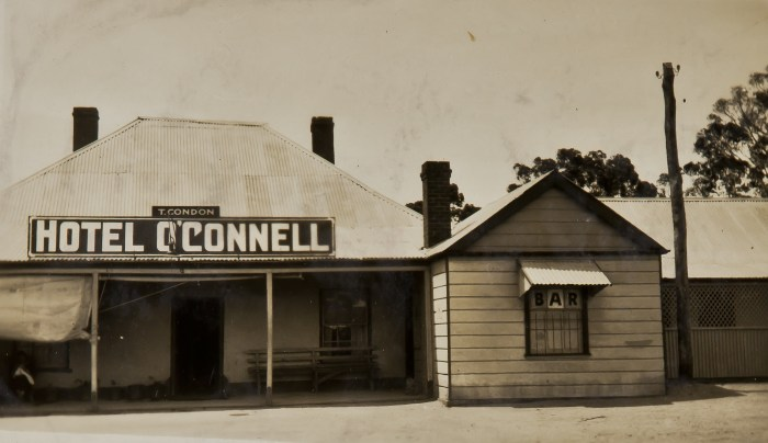 O'Connell Hotel Oconnell NSW 1925 NBA ANU
