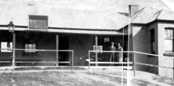 Railway Hotel Tarana NSW 1925 NBA ANU