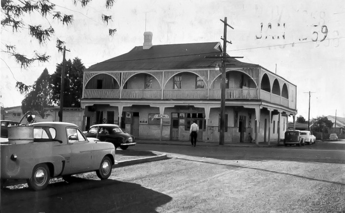 Waggon Wheels Hotel St Marys NSW 1959 NBA ANU