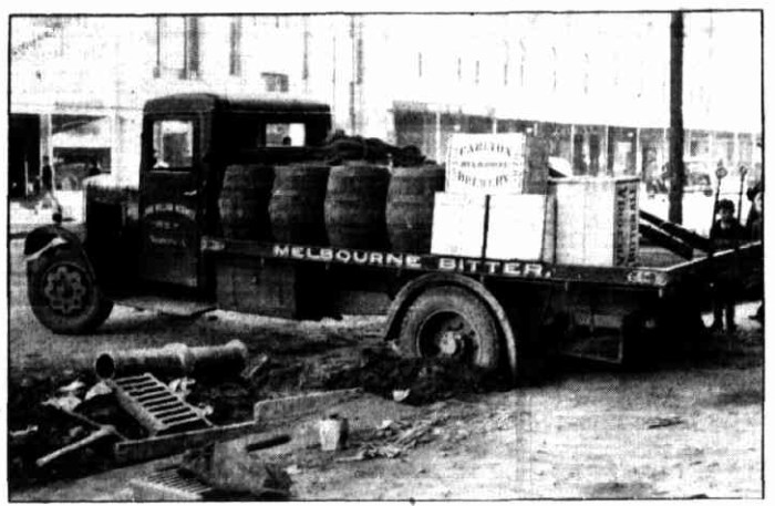 brewery lorry 1938