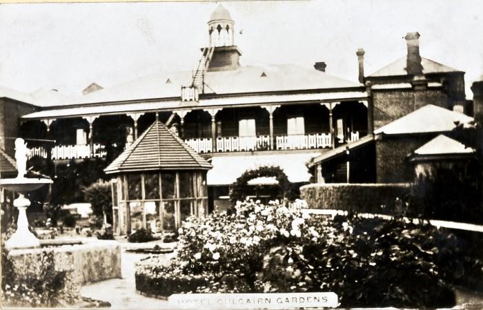 Culcairn Hotel garden Culcairn 1924 NBA ANU