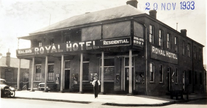 Royal Hotel Richmond NSW Nov 1933 NBA ANU