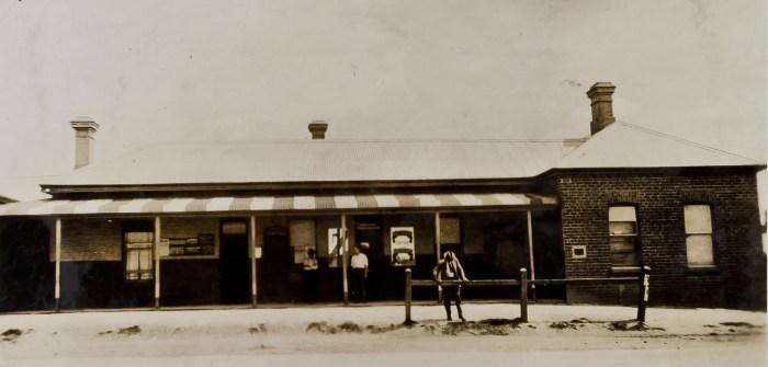 Walla Walla Hotel NSW March 1927 NBA ANU