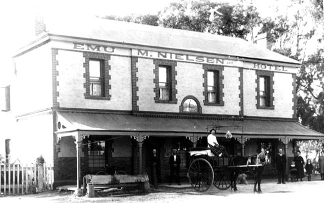 Emu Hotel Morphett Vale C 1910 SA State LIbrary of SA