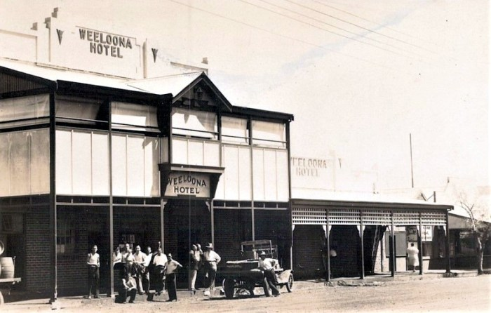 Weeloona Hotel 1930 Public Domain FLICKR