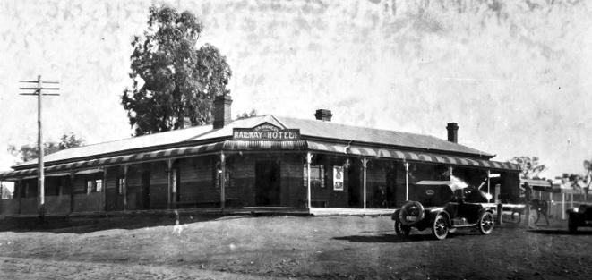 Railway Hotel Attunga NSW 1924 NBA ANU EDITED