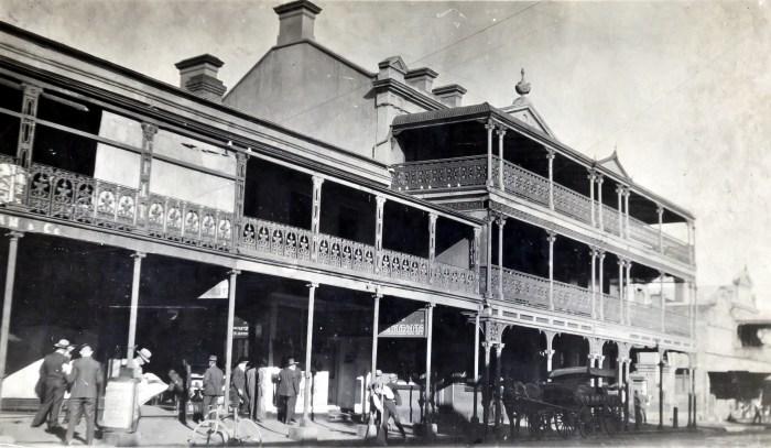 Tattersalls Hotel Armidale NSW 1924 NBA ANU