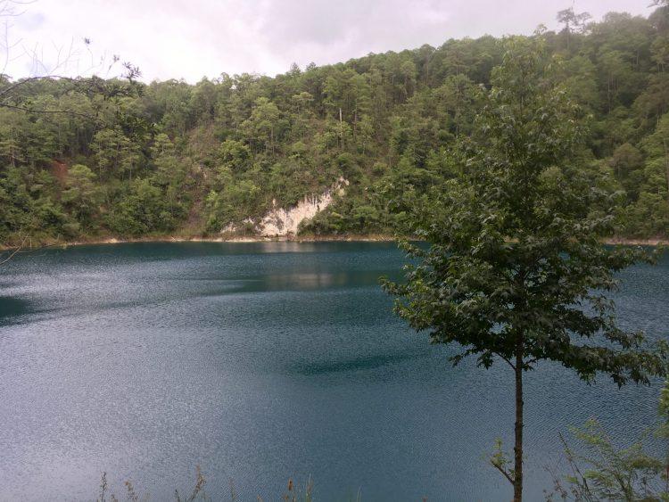 Lagunas de Colores view