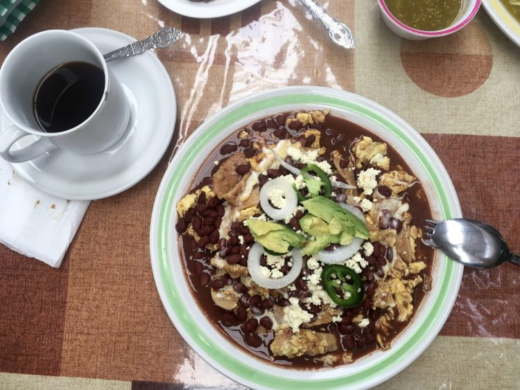 breakfast in Comitán