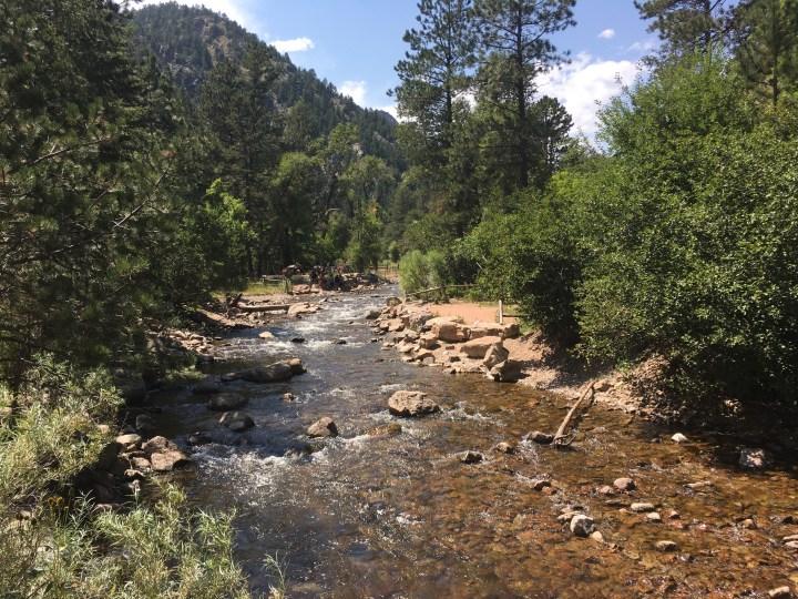 Eldorado Canyon brook