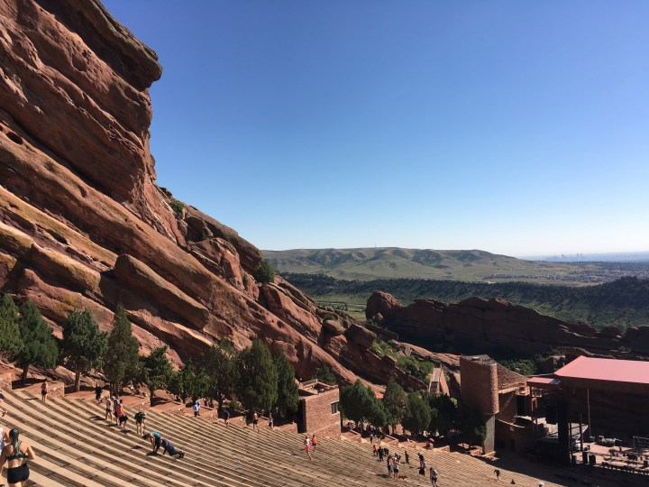 red rocks stage