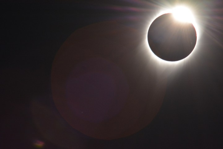 total eclipse ending