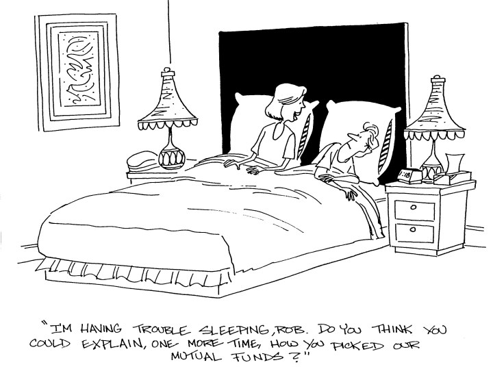 mutual funds boring comic