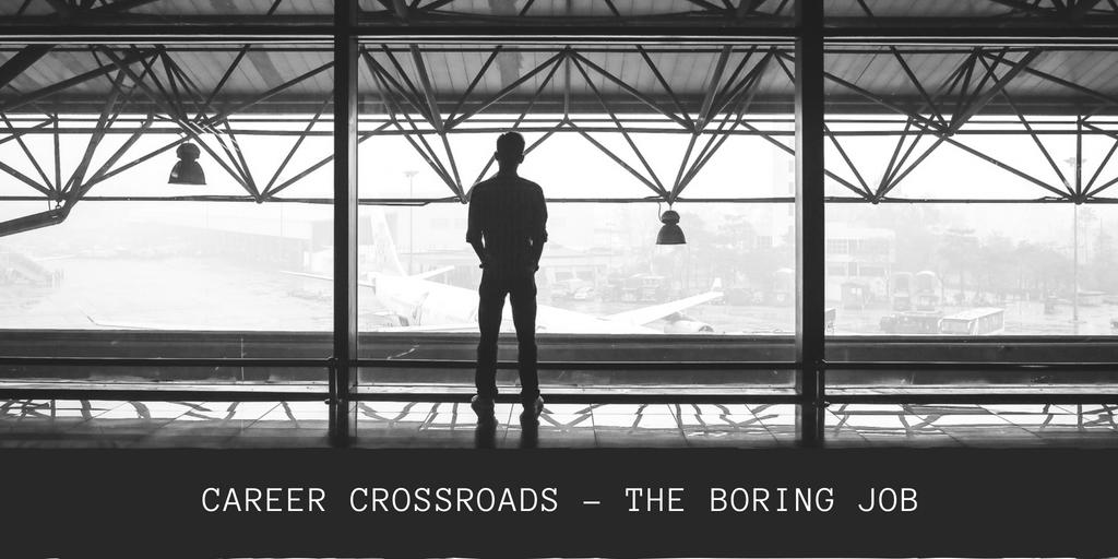 Career crossroads - my insurance job is boring
