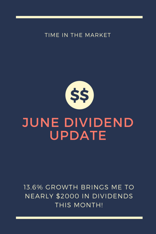 Dividend update! #Dividends #money #finance #cash #savings #growth