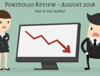 Portfolio Review – August 2018 – Lagging the Market