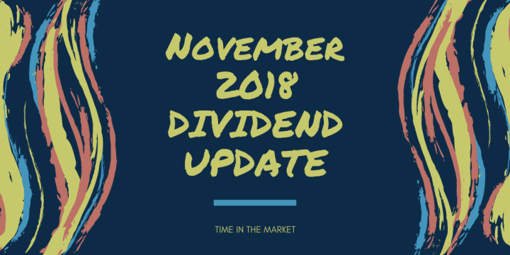 Time in the Market Dividend Review – November 2018 – Money Market Yields