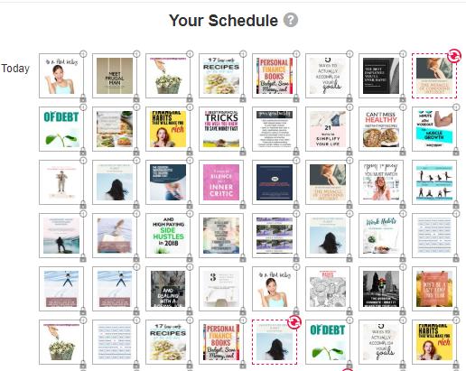 Pinterest Posting Schedule