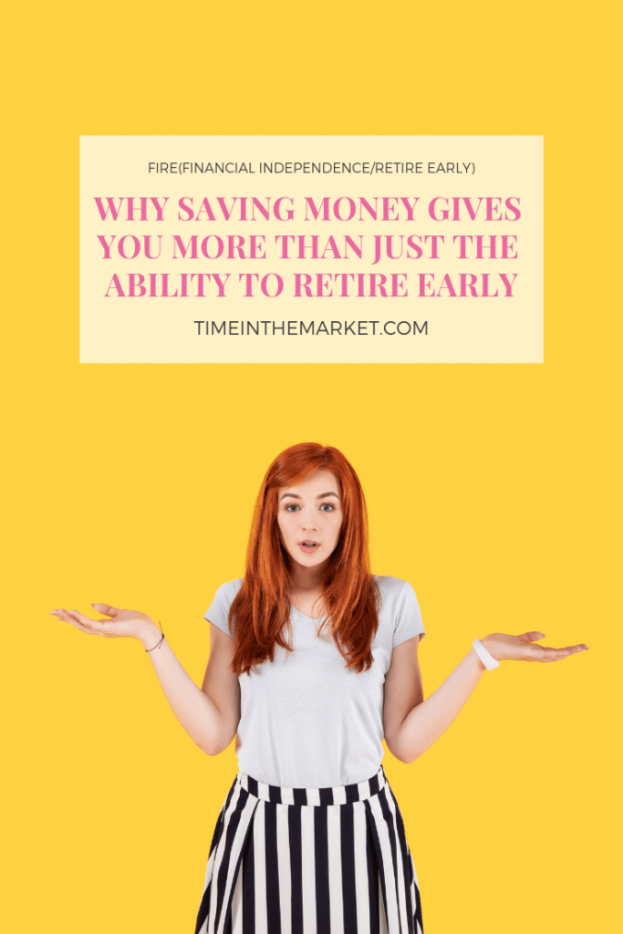 FIRE movement gives you the option to retire early or do something else