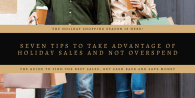 Seven Tips to Take Advantage of Holiday Sales and not Overspend