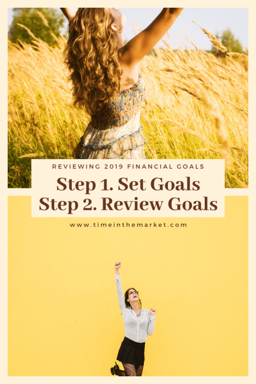 Setting Goals and reviewing them is important in finding success